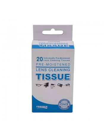 салфетки для очков tissue