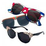 Солнцезащитные очки нестандартной формы