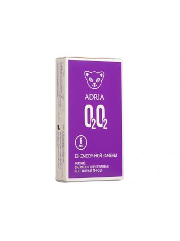 Контактные линзы  О2О2 (6 линз)