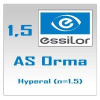 Однофокальные полимерные линзы AS Orma Hyperal (n=1.5)