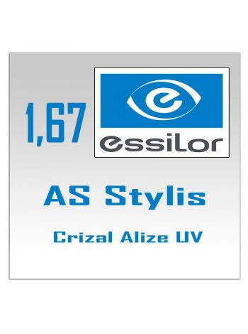 линзы AS Stylis Crizal Alize+ UV 1.67