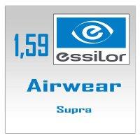 Однофокальные поликарбонатные линзы Essilor Airwear Supra - 1.59