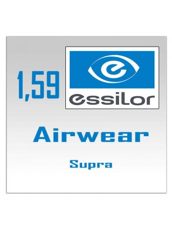 линзы Essilor Airwear Supra - 1.59