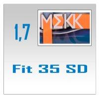 Однофокальные минеральные линзы Fit 35 SD (1.7)