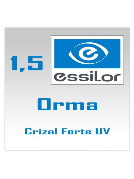 Однофокальные полимерные линзы Orma 15 Сrizal Forte +UV