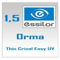 Однофокальные полимерные линзы Orma 15 Crizal Easy UV