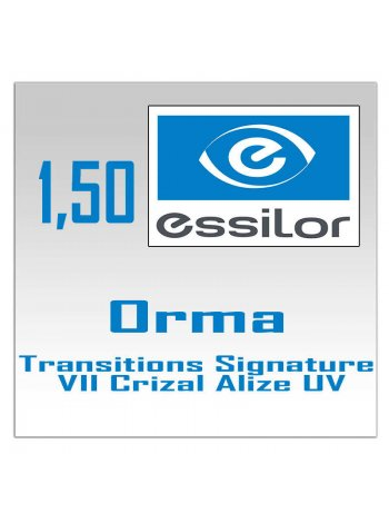 фотохромные линзы Orma Transitions Signature VII Crizal Alize