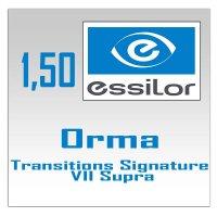 Однофокальные полимерные фотохромные линзы 1.5 Orma Transitions Signature VII Supra