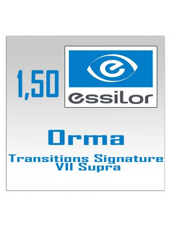 Фотохромные линзы 1.5 Orma Transitions Signature VII Supra