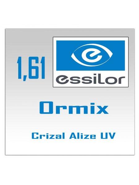 Однофокальные полимерные линзы Ormix Crizal Alize+ UV  1.61