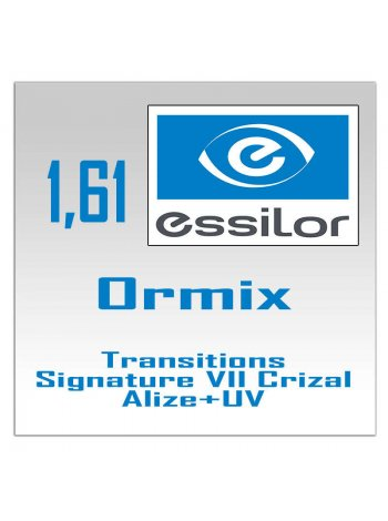 Фотохромные линзы Ormix Transitions Signature VII Crizal Alize+ UV - 1.61