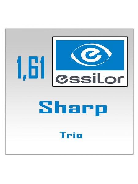 Однофокальные полимерные линзы Sharp 1.61 Trio