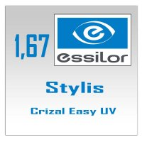 Линзы Stylis Crizal Easy UV- 1.67