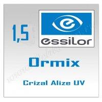 Однофокальные полимерные линзы Orma 15 Crizal Alize+UV