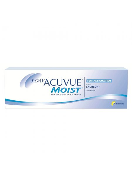 Линзы 1-Day Acuvue  Moist -30шт.