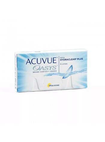 линзы Acuvue Oasys with Hydraclear Plus
