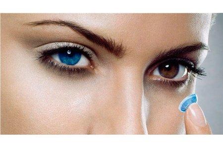 Вредны ли цветные контактные линзы ?