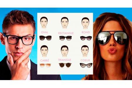 Как правильно подобрать очки по типу лица для мужчин и женщин