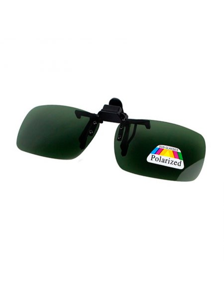 Клипоны на очки зеленый