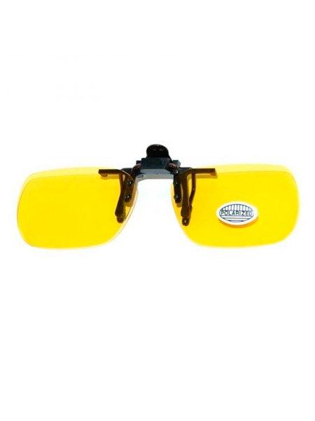 Клипоны на очки желтые
