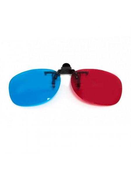 Клипон на очки 3D