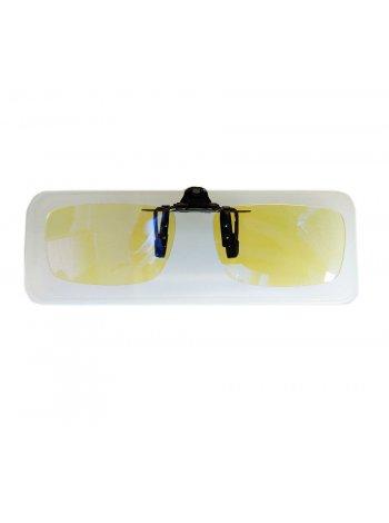 Клипон на очки с компьютерной защитой