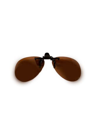 Клипон на очки капли (авиатор)